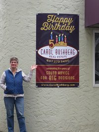 Carol and banner (1)